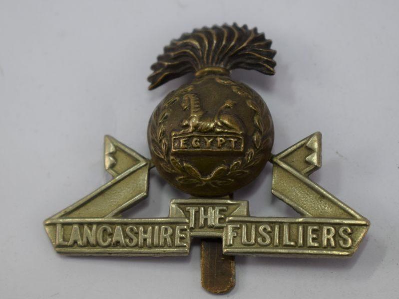Original WW1 WW2 The Lancashire Fusiliers Cap Badge