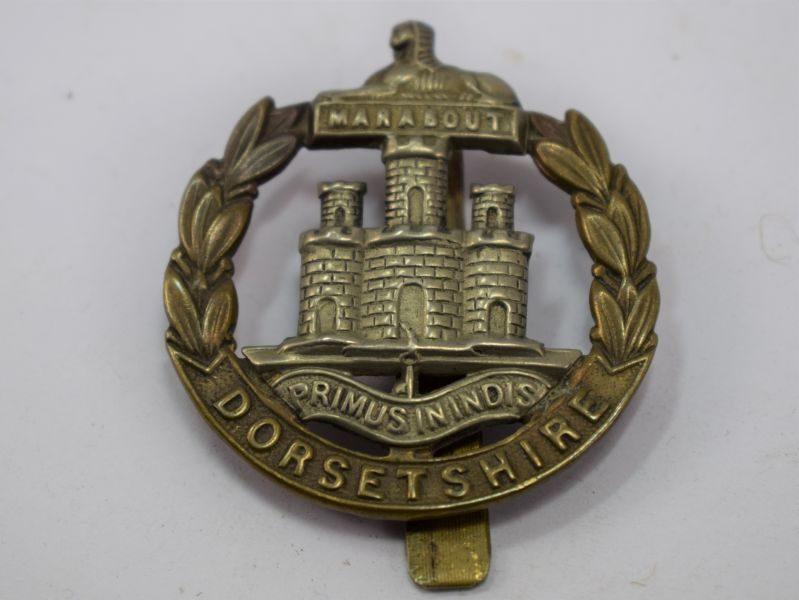 Original WW1 WW2 The Dorsetshire Regiment Cap Badge