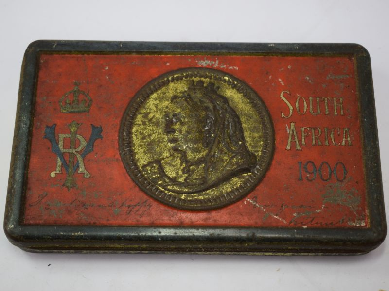 Original Boer War Issue Christmas Gift Tin South Africa 1900