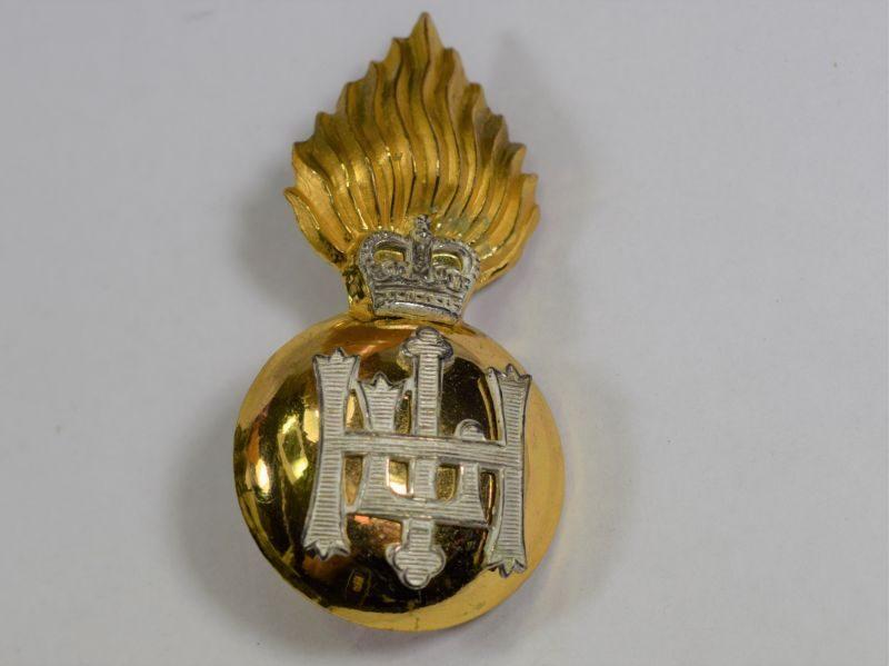 Excellent Post WW2 Highland Light Infantry Officers Cap/bonnet Badge