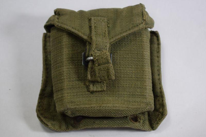 35 Original Late WW2 British 1944 pattern Web Compass Pouch MECo 1945