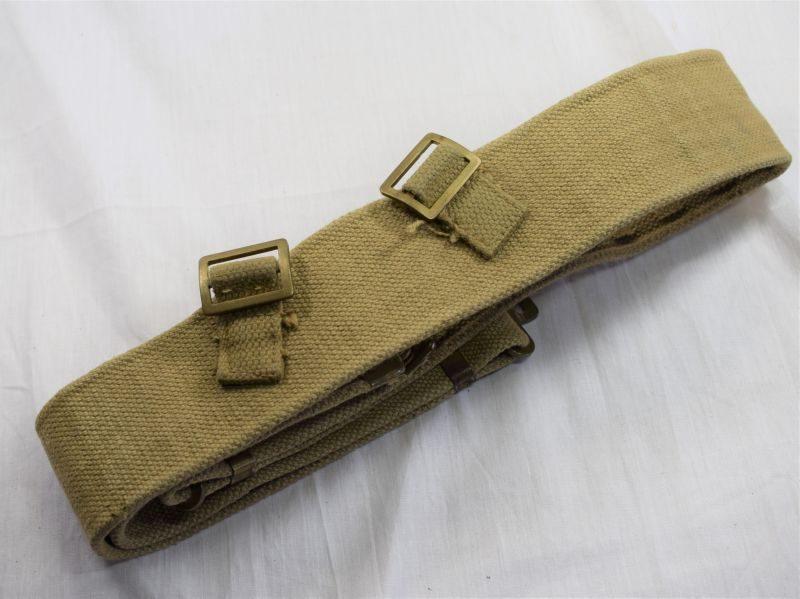 Extra Large WW2 Pat British 37 Pattern Web Belt CCL 1950