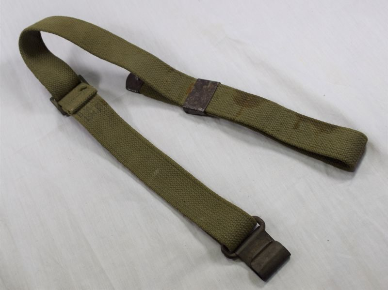 Original Late WW2 US Army M1 Garand Webbing Rifle Sling 1944