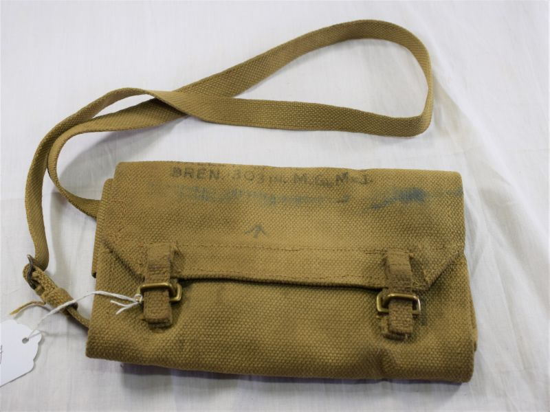 (GD) WW2 British Army Wallet Spare Parts Bren .303 in MG MKI