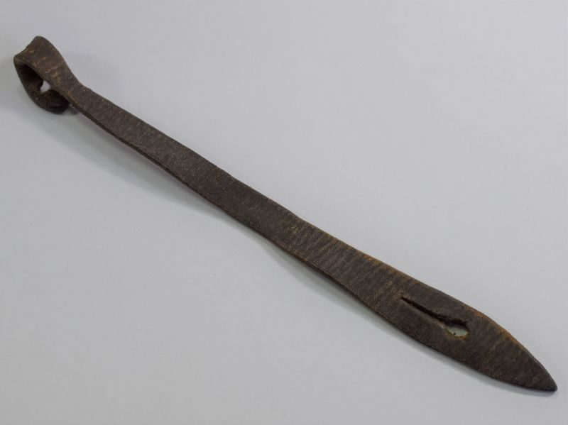 Original WW1 WW2 British Army Leather Whistle Fob