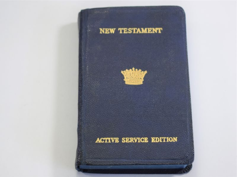 WW2 Royal Navy New Testament Active Service Edition 1943