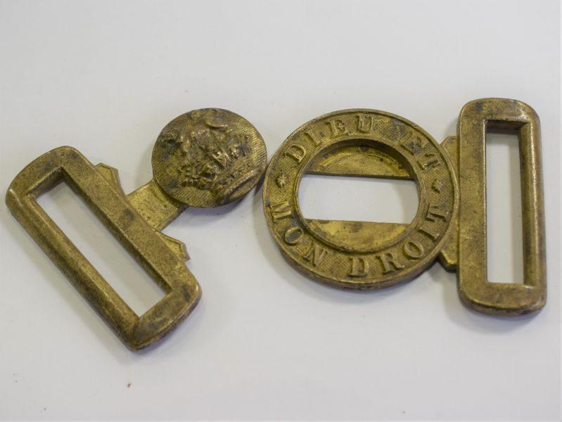 Excellent Original Victorian General Service Waist Belt Buckle in Brass