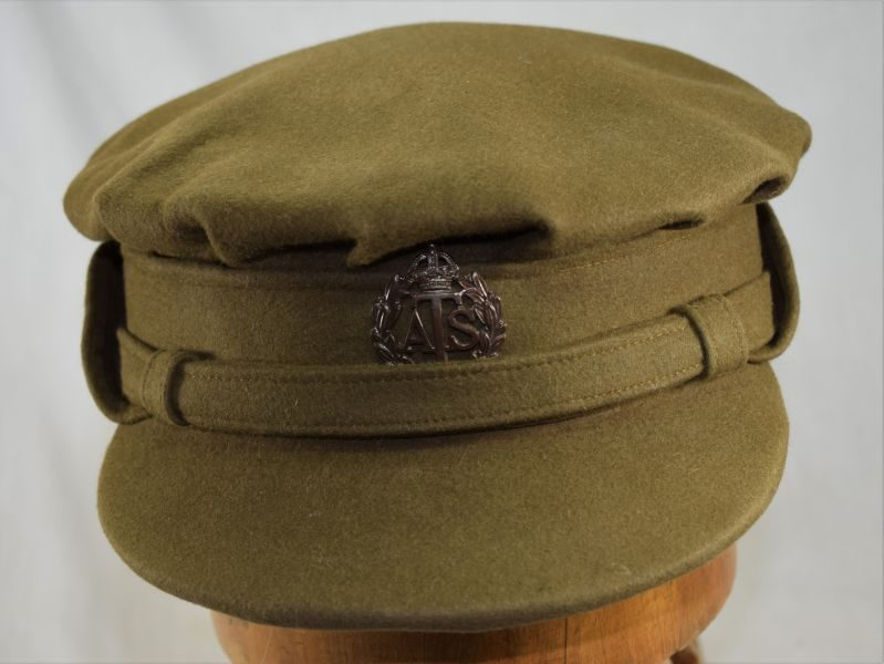 Lovely WW2 ATS Officers Private Purchase Fur Felt Cap