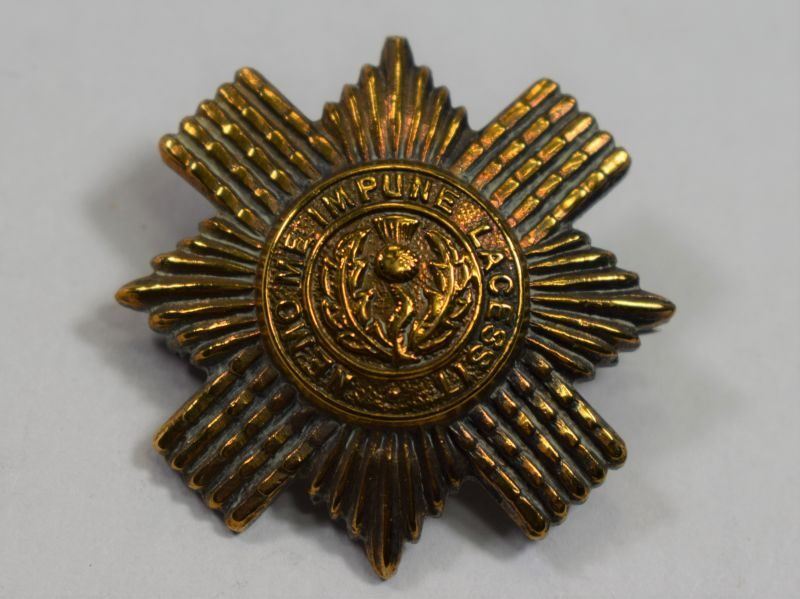 WW1 WW2 Scots Guards Pin Back Sweetheart Brooch