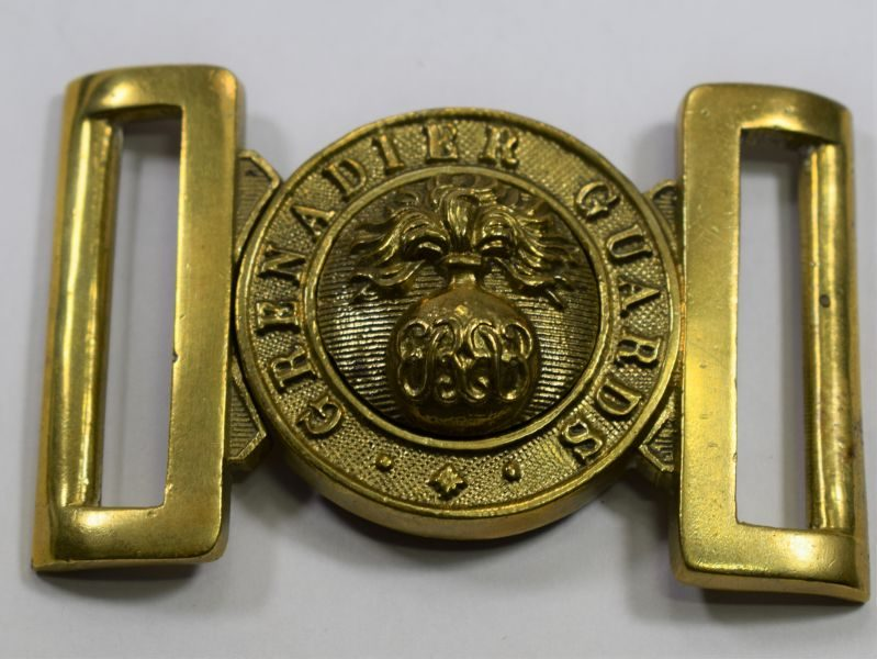 Original Brass Grenadier Guards Belt Buckle Dated 1969