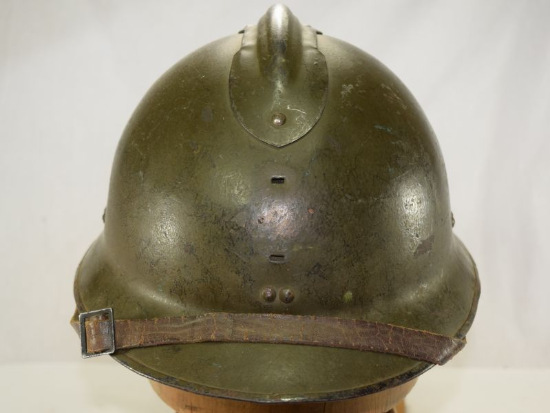 Excellent Unissued Ww2 French Army Helmet Dated 1944