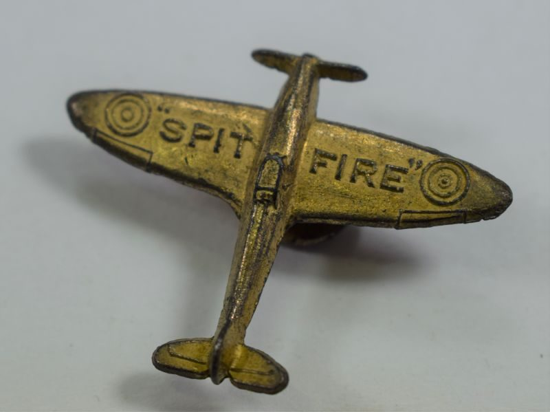 6 Original WW2 RAF Spitfire Fund Mans Lapel Badge