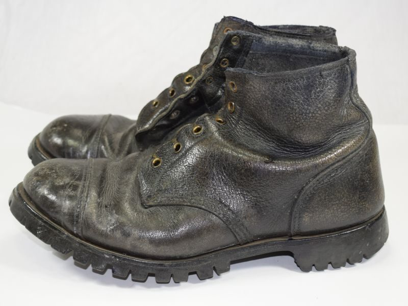 WW2 Pattern British Army Rubber Soled Commando Ammo Boots