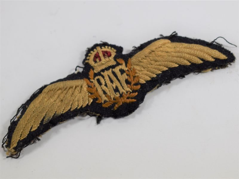 Lovely WW1 – 1930s Early RAF Pilots Wings Padded