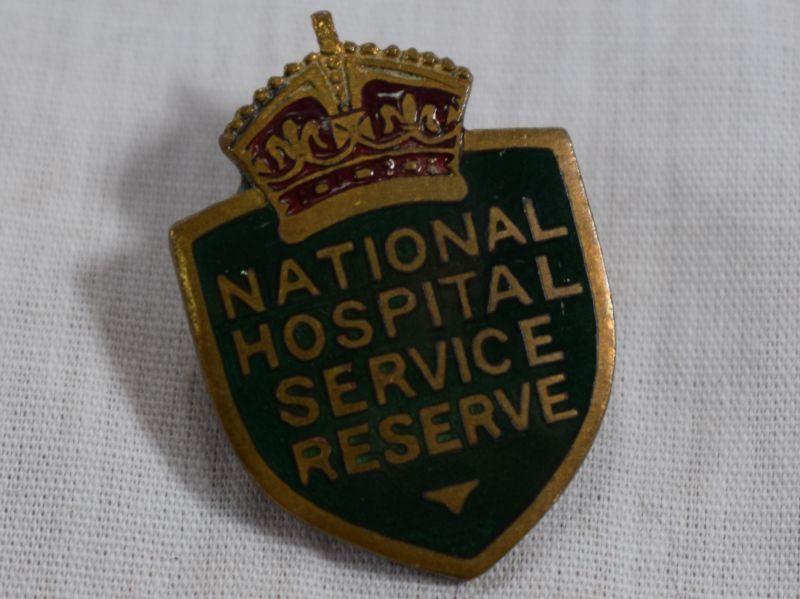 Cold War National Hospital Service Reserve Enamel Badge