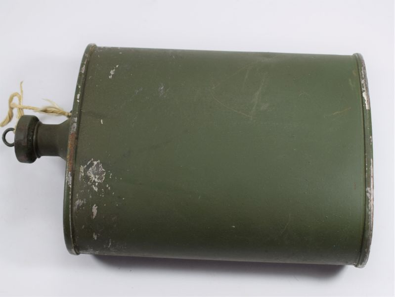 Unusual Ww2 Indian Made British Army Water Bottle Ml C T