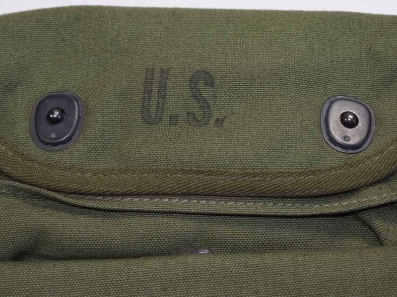 Mint Unissued US Army 3 Pocket Grenade Carrier Pouch 1945.