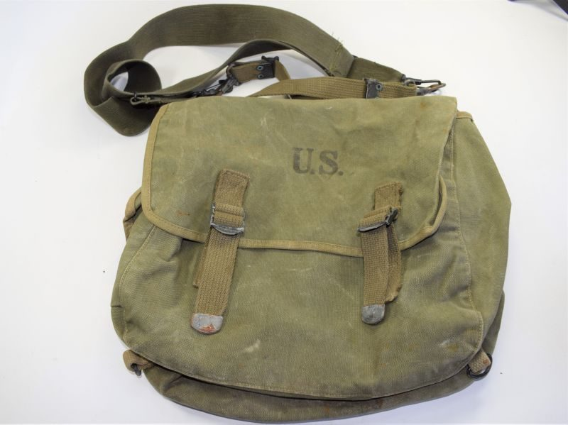 Original WW2 US Army Issue Musette Bag
