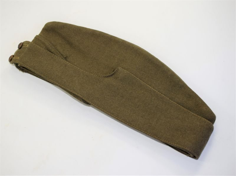 WW2 British Army Officers Issue Field Service Cap