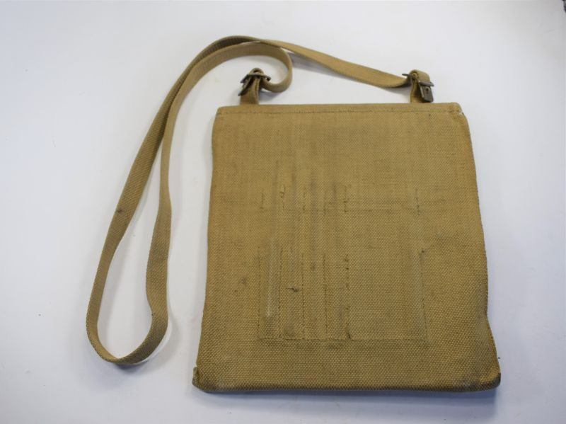 Early WW2 British Army Issue Map Case Dated 1942
