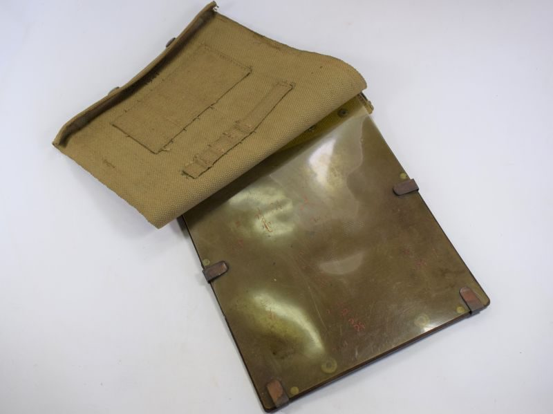 Early WW2 British Army Issue Map Case Dated 1941