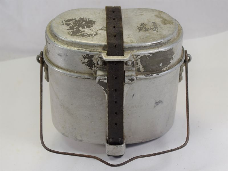 Original WW2 German Army Issue Alloy Mess Tins Dated 1939