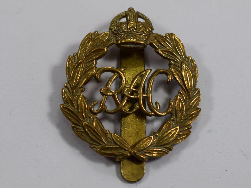 Original WW2 Royal Armoured Corps Brass Cap Badge