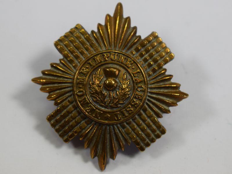 Original WW1 WW2 Scots Guards Cap Badge