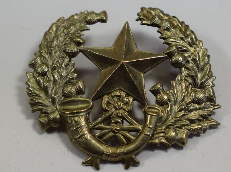Original WW1 WW2 Cap Badge The Cameronians Scottish Rifles