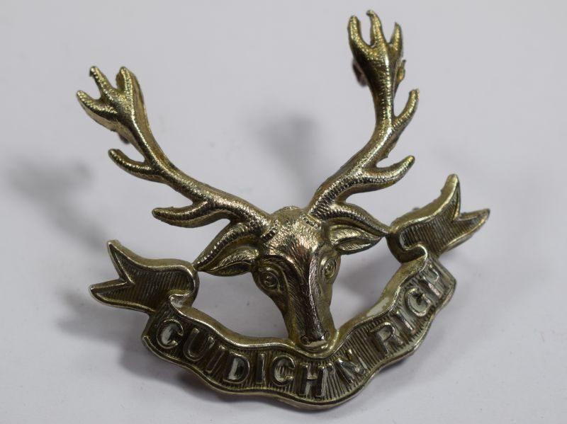 Original WW1 WW2 Cap Badge The Seaforth Highlanders