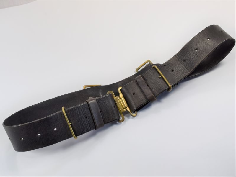 WW2 British Home Guard 1939 Pattern Leather Waist Belt