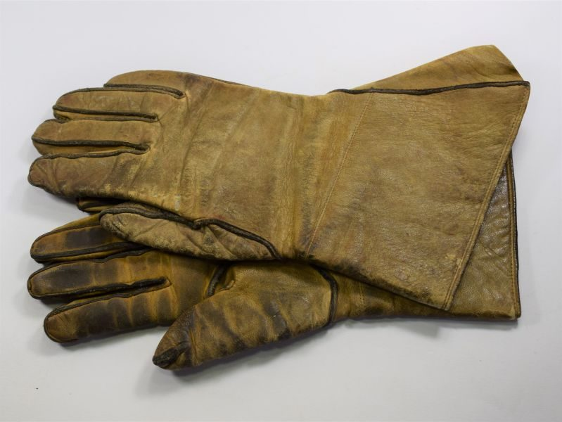 WW2 ATS Woman's Issue Leather Gloves Dispatch Rider