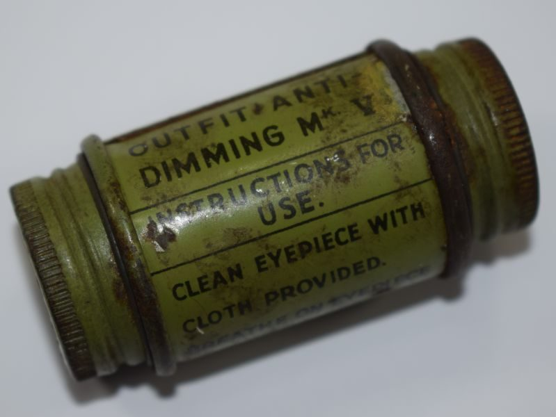 6 WW2 British Outfit Anti-Dimming MKV 1938