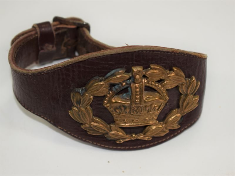 WW1 WW2 British Army Warrant Officers Leather Wrist Rank