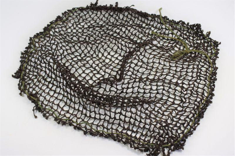 Original WW2 British Army Issue Dark Brown Helmet Net
