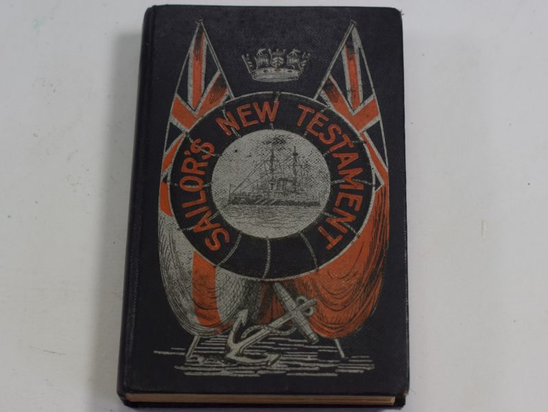 Early Pre WW1-Sailors New Testament 1905