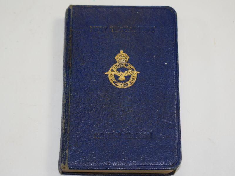 WW2 RAF Service Edition New Testament.
