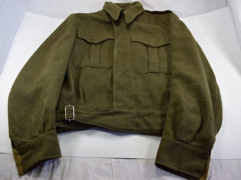 WW2 Pattern Canadian Made Battledress Blouse Size 8