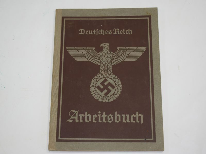 25 WW2 German Works Book Arbeitsbuch