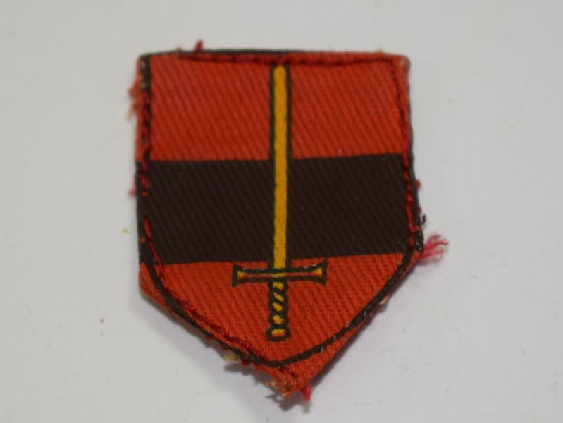 Vintage TA Troops printed Cloth Badge