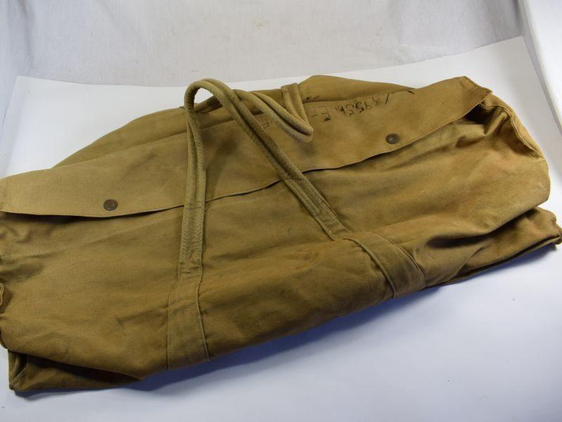 9 WW2 British ATS Woman's Kit Bag Dated 1945