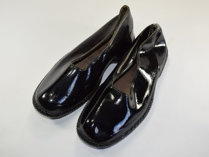 WW2 Canadian Made Rubber Waterproof Overshoes Dated 1940