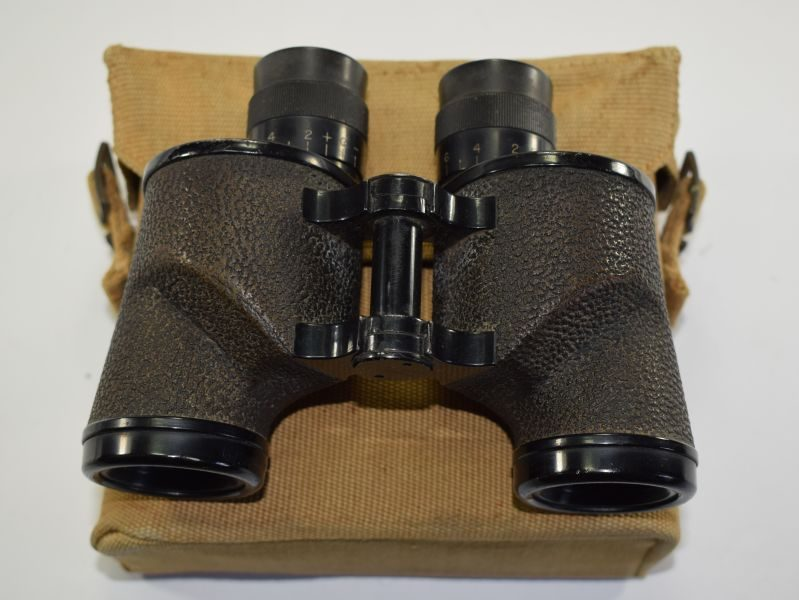 WW2 US Lend Lease 6X30 Bausch & Lomb Binoculars & 1939 Dated case
