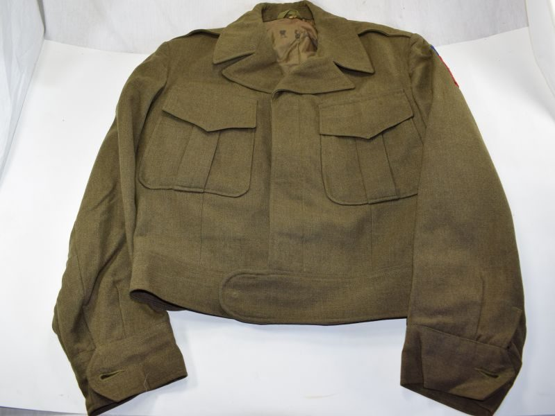 WW2 Pattern US Army Issue Ike Jacket Dated 1946
