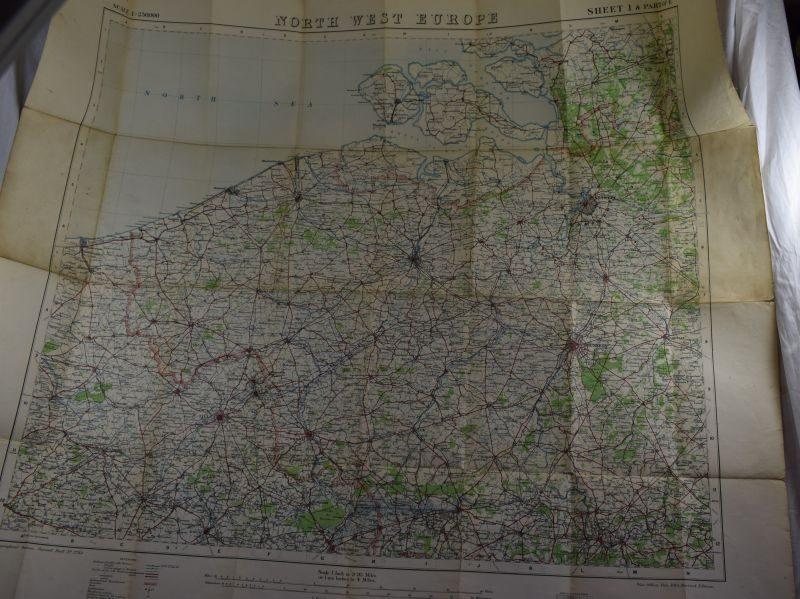 46 Original WW1 British Map 1915 Ypres, Vimy, Poperinghe, Menin Dixmude, Mons, Bethune etc