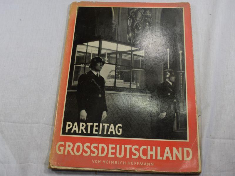 Original 1938 Dated Glossy Booklet Parteitag GrossDeutschland 1938