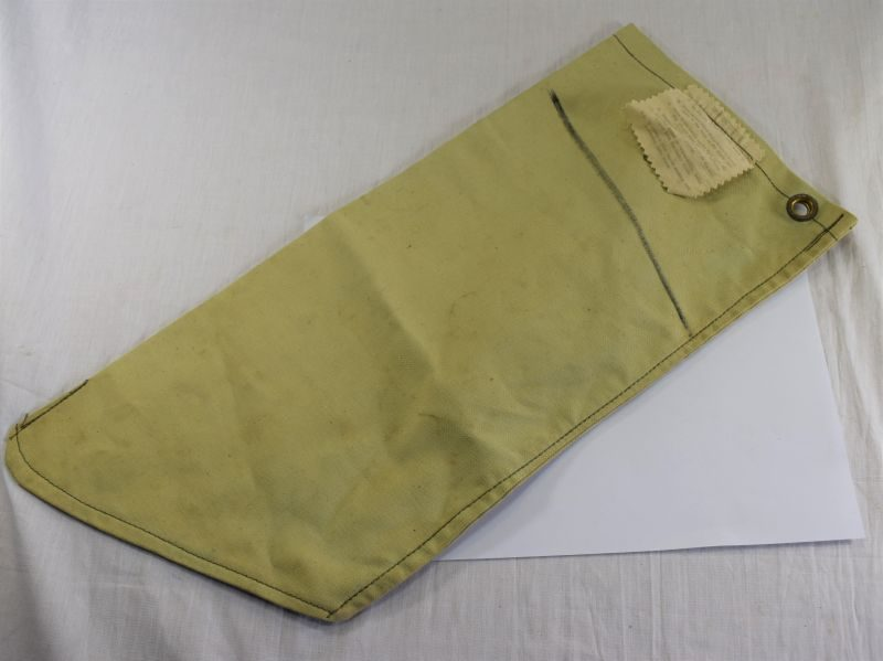WW2 British Army Tropical Issue Milbank Bag Water Filter Bag 1945