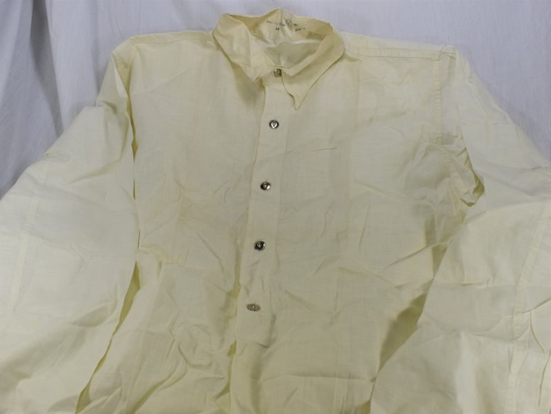 Mint Unissued WW2 Canadian Military White Shirt Dated 1942