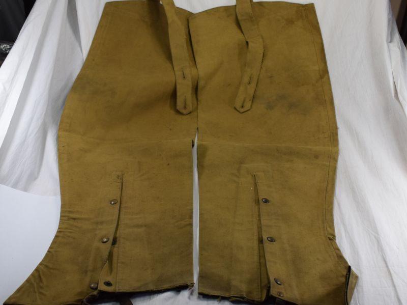 WW2 Era British Military DR Waterproof Leggings