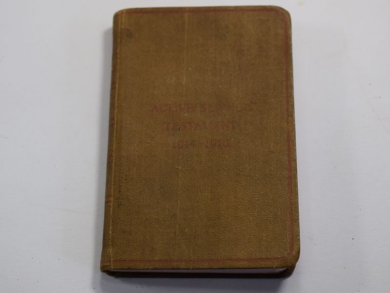 Original WW1 British Active Service Testament 1914-1916